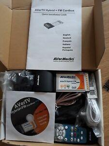 AVerTV Hybrid+FM CardBus for notebooks/laptops - boxed never used