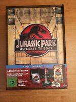 Jurassic Park box in legno audio italiano bluray