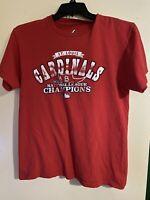 Vintage St Louis Cardinals 2013 NL Champions Size M Shirt