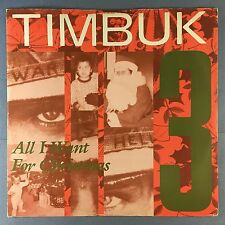TIMBUK 3 - All I Want For Christmas (Is World Peace) I.R.S. IRMT-142 Ex