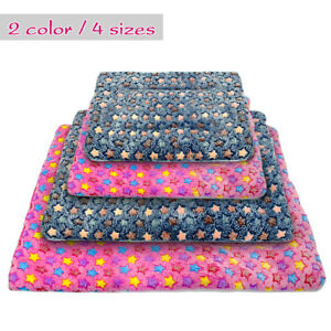 Dog Mat for Large Dogs Kennel Crate Plush Puppy Sleeping Bed Warm Mat Cushion