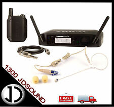 Shure GLXD14 Bodypack Wireless System + BONUS slimline earset microphone