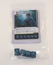 DC Dice Masters Batman * NIGHTWING * Set RARE Uncommon CUR + 4 DICE