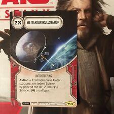 Ruta de destino de Star Wars de #30 tiempo central infrecuente DE menta
