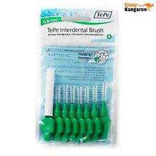 New Genuine TePe Interdental Brushes Green Medium 0.80mm 8 pack