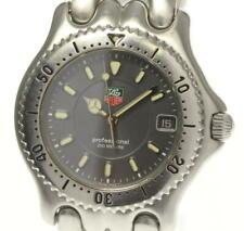 TAG HEUER S/el WG1113-0 Date gray Dial Quartz Men's Watch_552589