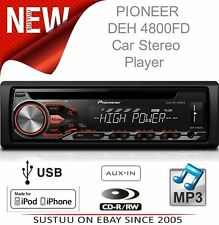 Pioneer Car Stereo + RDS Tuner│1Din Media Player│iPod-iPhone-Android Control│USB