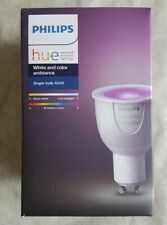 Philips Hue GU10 White Colour Ambience Richer Colours Smart Home Bulb New Sealed