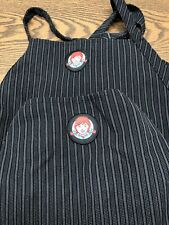 Wendy'S Old Fashioned Burgers Apron Lot of 2 Black Gray by Barco Uniforms