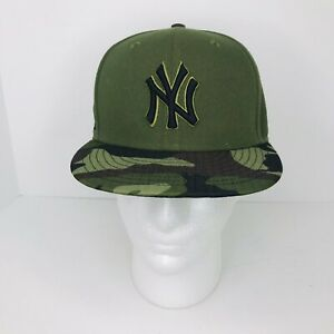 59FIFTY New Era New York Yankees Fitted 7 1/4 Two Tone Camo Baseball Hat NWOT