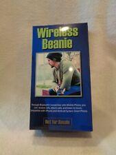 Wireless Bluetooth Beanie Cap New Unused Winter Accessories Black Color Speaker