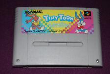 TINY TOON ADVENTURES - Konami - Jeu Plate-Forme Super Famicom SNES JAP