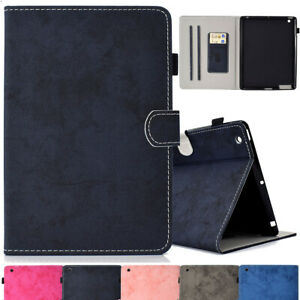 For Apple iPad Air 1 2 3rd 4th Gen Luxury Folio Stand Magnetic Smart Wake Cover