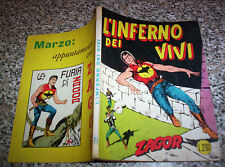 ZAGOR ZENITH N.71 ORIGINALE DEL 1967 OTTIMO NO TEX MARK ARALDO DOG RANGER