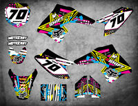 Custom Graphics Full Kit to Fit Suzuki DRZ 70 All Years PINNED STYLE stickers