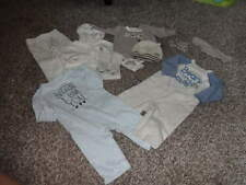 GYMBOREE 0-3-6 NEWBORN ESSENTIALS COZY CRITTERS HUGE LOT BOYS