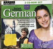 Topics Entertainment Instant Immersion German - 2 CD Set Good Condition