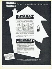 Publicité Advertising 097  1954  Butagaz propagaz   eau chaude