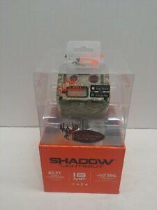 New Wildgame Innovations Shadow Micro Lightsout Trail Camera 16MP Tru Bark Camo