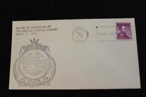 NAVAL COVER 1961 SLOGAN CANCEL COMMISSION USS ABRAHAM LINCOLN (SSBN-602) (2885)