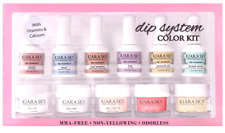Kiara Sky Nail DIP DIPPING POWDER Starter Kit + Recycling System ~NEW RED KIT~