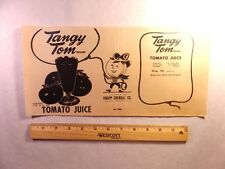 Label-TANGY TOM-Knapp-Sherrill,Donna,TX.tomato juice.Texas Magic B&W =melaneybuy