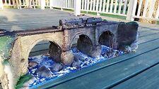 B&O RR, Bloomington viaduct, Circa 1853', HO gauge, Sale @ $300.00  SS LE