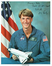 C Michael FOALE Signed Autograph Litho Photo COA AFTAL NASA Space Astronaut
