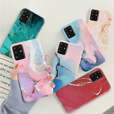 Case For Samsung Note 20 S20 S10 S9 S8 A51 A71 ShockProof Marble Cover Silicone