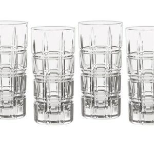 Marquis by Waterford Crosby Hiball Set (Set of 4), Clear
