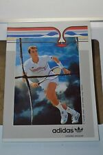Années 1980 Adidas Ambar Exercise Book Ivan Lendl Tennis Legend