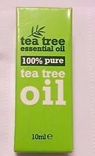 100% di tea tree oil olio essenziale puro 10 ML ANTISETTICO Anti Batteri Anti Fungino