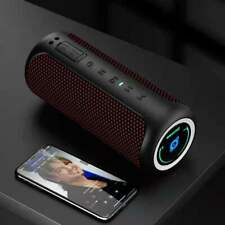 Bluetooth Speaker, IPX7 Waterproof Portable Wireless Outdoor Speakers with LED