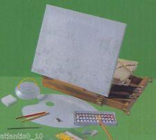 Malset 1201 mit Tischstaffelei/Koffer 40 tlg. /m2