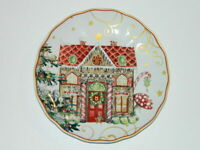 Williams Sonoma Rare Gingerbread Twas the Night Before Christmas Salad Plate
