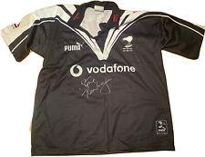 Stephen Kearney New Zealand World Cup 2000 Match Worn Signed Jersey Jumper XXL