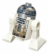 "NEW LEGO ""MUDDY"" R2-D2 MINIFIG 75208 star wars dagobah yoda's hut figure droid"