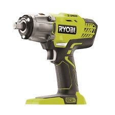 Ryobi One+ 18V 3-Speed Impact Wrench - Skin Only  360 Nm of torque 3200 impacts