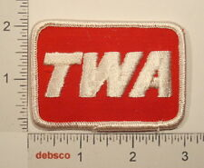 TWA Trans World Airlines (Merged 2001 American Airlines) Travel Souvenir PATCH