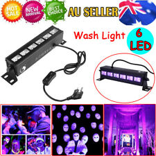 18W 6LED UV Lamp Wall Wash Lighting DJ Disco Club Stage Party Decor Lights-AU