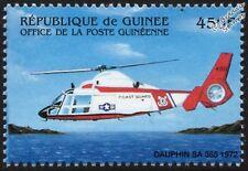 USCG Coast Guard Eurocopter/Aérospatiale Dauphin SA365 Helicopter Aircraft Stamp