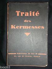Traité des Kermesses - O-Gé-O - 1938 - Jeux - Fêtes populaires - Fête des écoles
