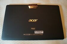 """REAR HOUSING COVER BACK IN BLACK FOR 10.1"""" ACER ICONIA ONE A3-A40 A6002 GENUINE"""