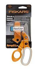 Fiskars Crafts Amplify RazorEdge Fabric Scissors Shears, 6-Inch (7061)