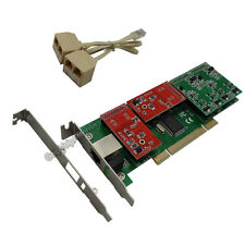 TDM410P 2FXO & 2FXS Asterisk card Low profile PCI card support elastix trixbox