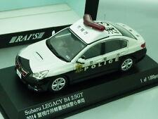 "1/43 Rai's SUBARU LEGACY B4 2.5GT ""TOKYO"" #3 PATROL CAR 20014"