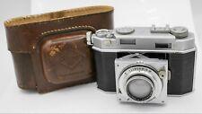 Agfa Karat 36 35mm Film Rangefinder Camera - Schneider Xenon 5cm F2 Lens & Case