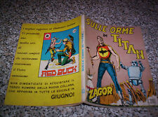ZAGOR ZENITH N.63 ORIGINALE DEL 1966 OTTIMO TIPO TEX MARK ARALDO DOG RANGER