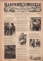 1871 Harpers Weekly September 2-Irish use alcohol and gunpowder; Tammany Palaces