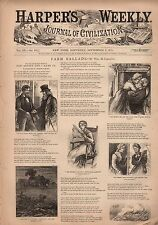 1871 Harpers Weekly September 2-Irish use alcohol and gunpowder; Tammany Palaces